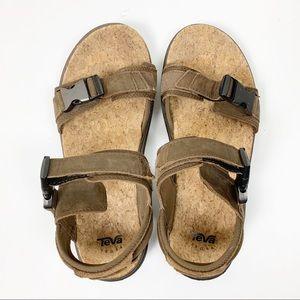 Teva | Mens Terra Float Brown Sandals 9.5